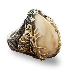 ivory ring elk ivory tooth trophy antler ring park city jewelers