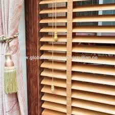 Wooden Venetian Blind China 50mm Manual Faux Wood Venetian Blinds For Hotel On Global
