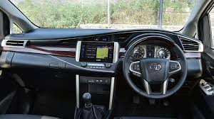 toyota innova toyota innova crysta 2017 price mileage reviews specification