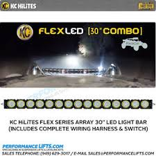 30 led light bar combo kc hilites flex series 30 led light bar combo beam 276 ebay