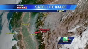 Wildfire Map Mariposa by Thick Smoke From Mariposa County Fire Stretches To Tahoe Sac