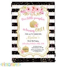colors black and gold birthday invitations templates in