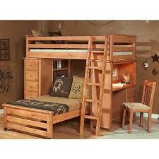Trendwood Laguna Loft Style Bunk Bed With Chest And Desk Ends - Trendwood bunk beds