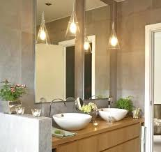 pendant lights for bathrooms stunning bathroom pendant lighting