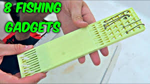 8 fishing gadgets put to the test youtube