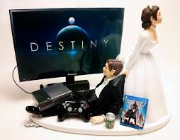 gamer cake topper wedding cake topper dest gamer xbox one ps4 custom 2441314