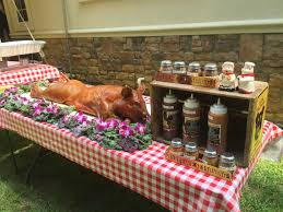 backyard grill kenilworth pig roasts u0026 backyard parties nj pig roast catering wedding