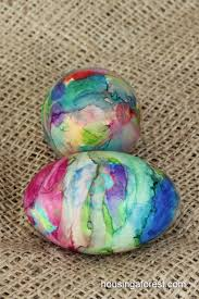 Decorating Easter Eggs With Nail Polish by Sharpie Tie Dye Easter Eggs Simple Technique With Beautiful
