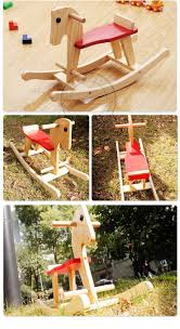 Baby Rocking Chair Wooden Horse Toy Baby Rocking Horse Toys Chair For Kids Ride On