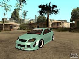 tuner cars gta 5 chevrolet cobalt ss for gta san andreas