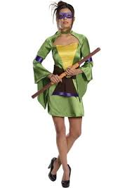 Ninja Turtle Halloween Costumes Donatello Women Ninja Turtle Kimono Costume 34 99
