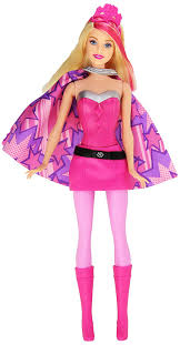 amazon barbie princess power super hero barbie doll toys