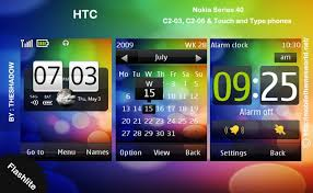 htc themes update htc theme for nokia c2 03 c2 06 x3 02 phones themebowl