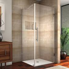 36 Shower Doors Vigo Frameless Square Clear Shower Enclosure And Base 36 X 36