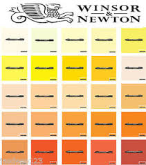 shades of yellow winsor newton promarkers pens yellow orange shades markers art