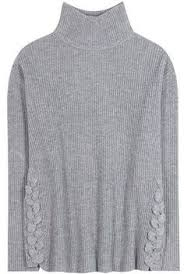 the row violina oversized ribbed cashmere turtleneck sweater