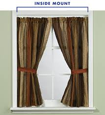 Curtains Hung Inside Window Frame Window Curtains Pic Of How To Measure Windows For Curtains Bed