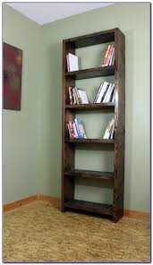 how to build a simple bookcase without power tools bookcase