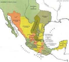 map of mexico 1821 independence of mexico