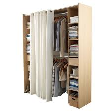 chambre castorama dressing tout en un 180 cm avec rideau castorama diy deco