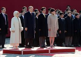 Ottoman Descendants Pm Meets Descendants Of Ottoman Sailors Rescuers In Japan
