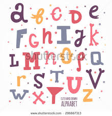 kids letters stock images royalty free images u0026 vectors