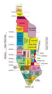 New York City Map Nyc Neighborhood Maps Bald Punk