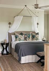 Coastal Bedroom Ideas by Coastal Bedroom Ideas With Coastal Pillows And Canopy And Fan And