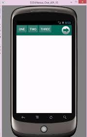tutorial android menu bar android sliding horizontal menu using drawer tutorial exle
