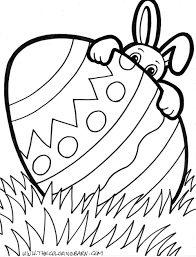 easter bunny coloring pages picture collection website easter
