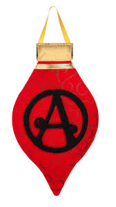 monogram christmas christmas ornament monogram felt door hanger i americas flags