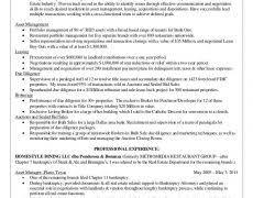 Commercial Real Estate Resume Real Estate Resume 19 17 Nardellidesign Com
