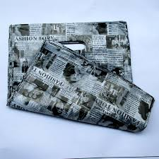 english newspaper pattern buy newspaper gift bag and get free shipping on aliexpress com
