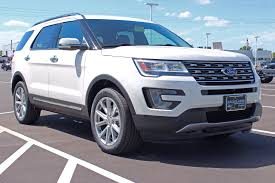 lincoln 2017 white 2017 ford explorer limited ecoboost 4x4 suv at eau claire ford