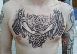 81 alluring wings on chest