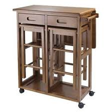 wooden kitchen island table small kitchen island table brown wood rolling lock compact two bar