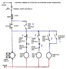 star delta control wiring wiring diagram
