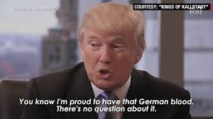 Blood Meme - donald trump is proud of his german blood youtube