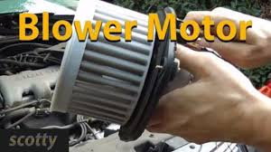 replacing a blower motor that doesn u0027t blow youtube
