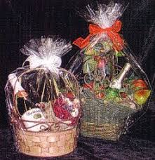 clear gift wrap clear gift basket bags fancy gift wrap
