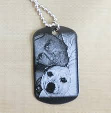 photo engraved dog tags october special memorial dog tags enchanted memories custom