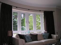 everlasting bay window curtain rods u2014 castro home and garden