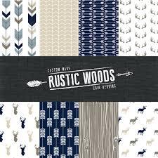 the rustic woods crib bedding set modern woodland custom crib