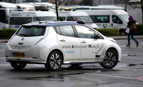nissan leaf top speed self driving nissan takes to europe u0027s streets for first time the