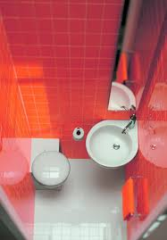 small toilet bathroom projects pictures floor galley tiny architectural red