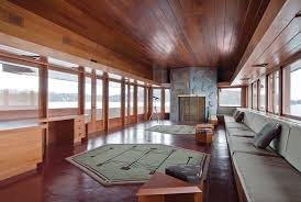 Frank Lloyd Wright Area Rugs Living Wright In Lake Mahopac House Profiles Hudson Valley