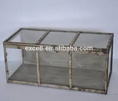 shabby vintage decorative plant greenhouse u0026 metal terrarium buy
