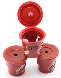 amazon com stk keurig reusable k cup 3 count for keurig classic