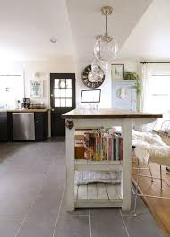 industrial kitchen island with storage from crates u0026 pallets