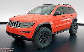 jeep grand customization custom jeep grand jeep grand trailhawk ii